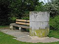 Memorial to the creation of Hightown Common, Ringwood - geograph.org.uk - 175967.jpg