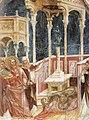 Menabuoi, Giusto de — Der Apostel Philippus vor dem Götzenbild — um 1358 — Basilica di Sant'Antonio di Padova.jpg