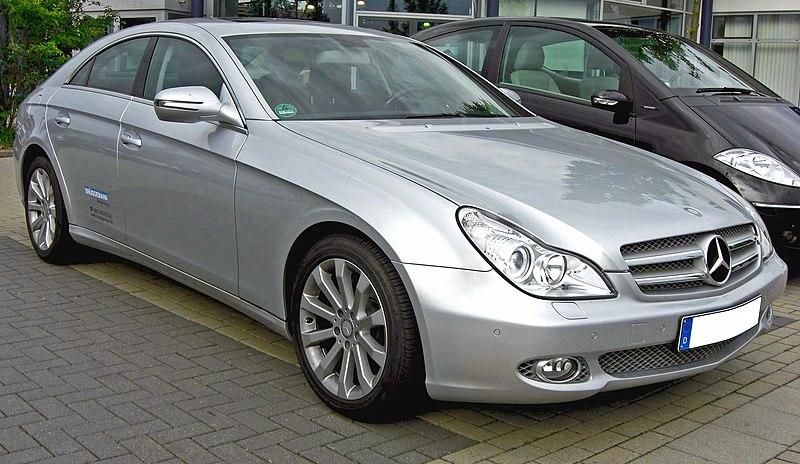 File:Mercedes CLS Facelift front.jpg