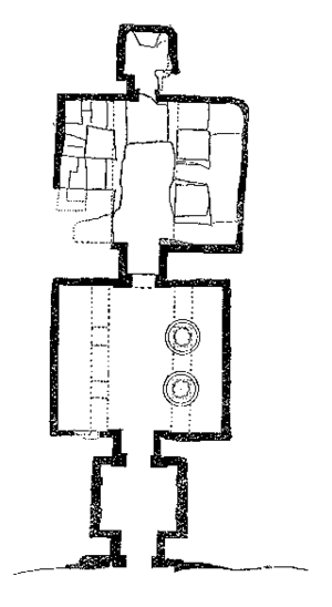 Tomb of Meryra - Plan of the tomb