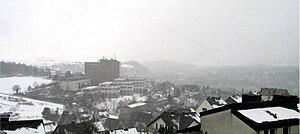Meschede - Meschede in winter 2004