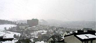 Meschede - Meschede in winter 2004