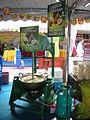 Mesin pembuat lempuk durian yang dipamerkan di MAHA 2010.JPG