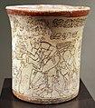 Messico, maya, vaso con scena ultramondana, periodo classico recente, VII-X sec., 02.JPG