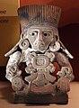 Messico, zapotec, urna ceramica, dallo stato di oxaca, 200-800 dc ca. 03.jpg