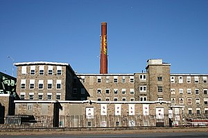 National Register of Historic Places listings in Fall River, Massachusetts - Image: Metacomet Mill