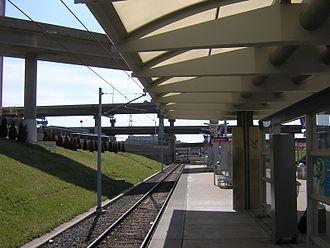 Civic Center station (MetroLink) - MetroLink light rail platforms