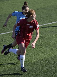 Turkish female footballer