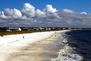Mexico Beach waterfront
