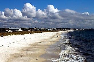 Mexico Beach, Florida - Mexico Beach waterfront