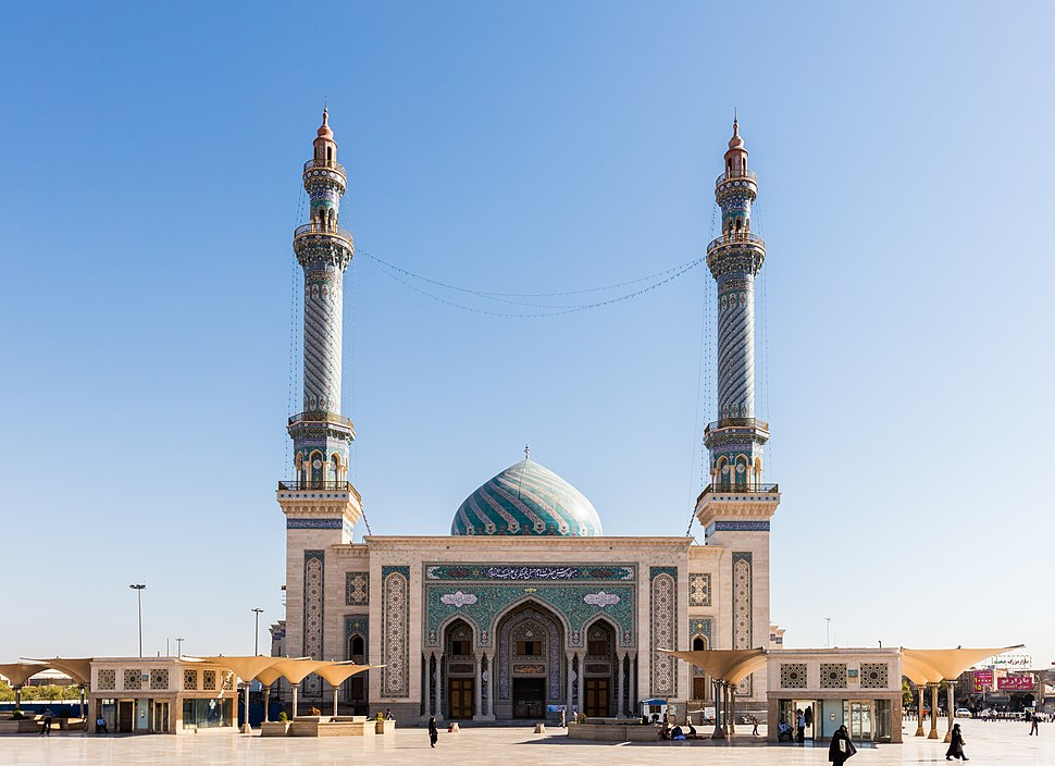 Mezquita del Imam Hassan Al-Asgari, Qom, Irán, 2016-09-19, DD 20