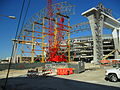 Miami Marlins Ballpark construction-February 2011.JPG