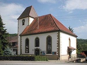 Zaberfeld - Image: Michelbach kirche web