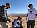 Michele Doctor and Anthony Checking Vitals in Atacama.jpg