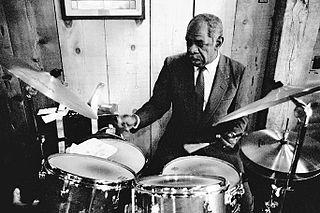 Mickey Roker American jazz drummer