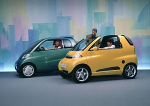 Smart (marque) - 1993 eco-sprinter and eco-speedster concepts