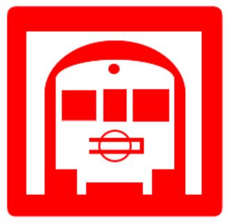 Yotsubashi Line - Image: Midosuji logo