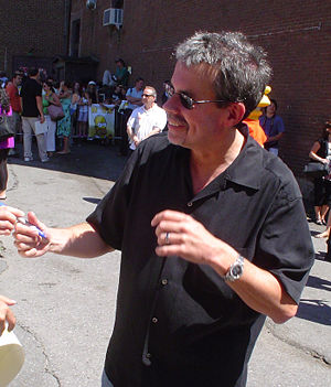 Mike Scully - Scully in July 2007, at the premiere of The Simpsons Movie in Springfield, Vermont