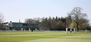 Millfield - Image: Millfield main ground pavilion