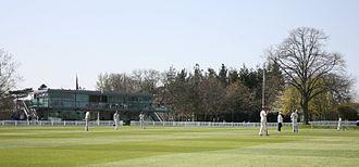 Street, Somerset - Millfield School cricket ground and pavilion