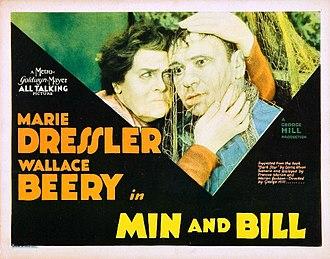 Min and Bill - Lobby card