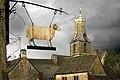 Minchinhampton Church from Ram Inn - geograph.org.uk - 1734381.jpg