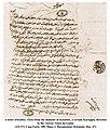 Minister Kuruppu's Arabic letter to da Gama (1524).jpg