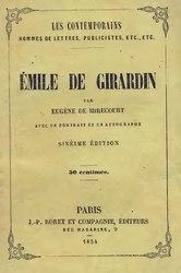 Eugène de Mirecourt: Émile de Girardin