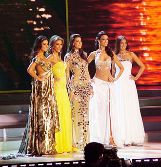 Miss Universe 2008 - Top 5 at Miss Universe 2008