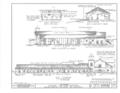 Mission San Juan Bautista, Second Street, San Juan Bautista Plaza, San Juan Bautista, San Benito County, CA HABS CAL,35-SAJUB,1- (sheet 4 of 38).png