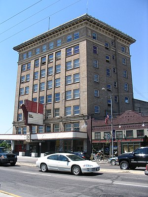 Downtown Missoula - The Wilma Building
