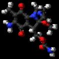 Mitomycin molecule ball.png