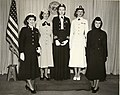 Modeling new uniforms (BUMED 09-8051-9), U.S. Navy BUMED Library and Archives (5497189289).jpg