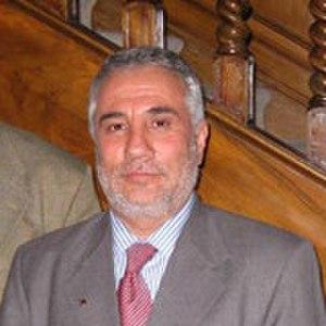 Mohammad Akbar Barakzai - Image: Mohammad Akbar Barakzai in Hungary cropped