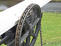 Molen De Prins van Oranje, Bredevoort Ten Have-klep tandheugel kettingwiel (4).jpg
