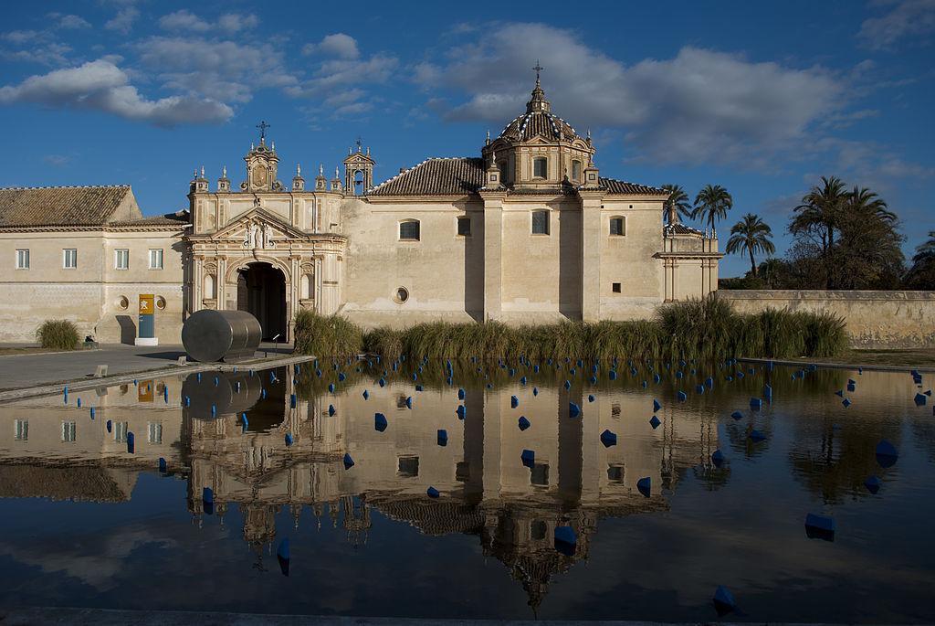 Monastère de la Cartuja à Séville, siège du centre d'art contemporain - Photo de Marcela Escandell