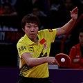 Mondial Ping -Women's Singles - Quarterfinal - Zhu Yuling-Feng Tianwei - 18.jpg