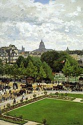 Claude Monet: Garden of the Princess, Louvre