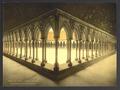 Monks' promenade, Mont St. Michel, France-LCCN2001698482.tif