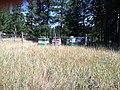 Montana beehives, August 2012. (39002860862).jpg