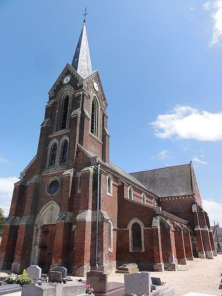 Montigny-le-Franc (Aisne) église