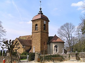 L'église du village.