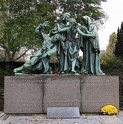 Karel Dvořák: Monument honoring Czech volunteers fighting in France