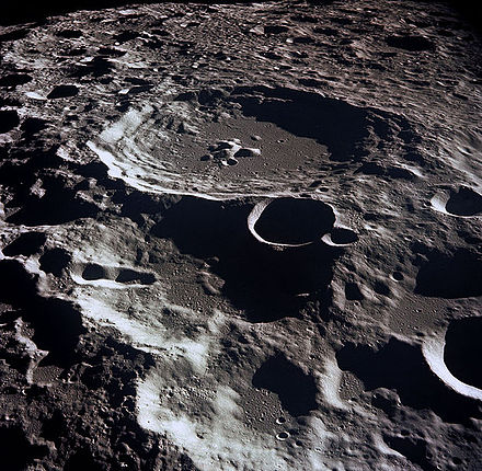 Lunar crater Daedalus on the Moon's far side Moon-craters.jpg