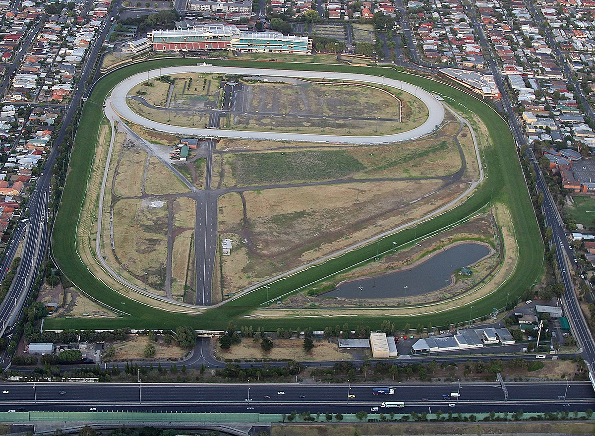 Moonee Valley Racecourse Map