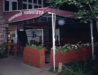 Moosewood Restaurant - September 1992, exterior, Moosewood Restaurant, Ithaca, NY