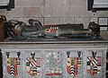 Moreton Corbet church Corbet Savile tomb 01.JPG