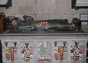 Moreton Corbet - Image: Moreton Corbet church Corbet Savile tomb 01