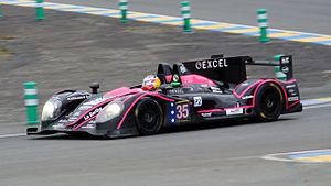 Pescarolo 01 - 2013 Oak Racing Morgan-Nissan LMP2 car, 24 Hours of Le Mans winner.