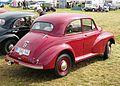 Morris Minor MM (low-lights) 1950 rear three quarters.JPG